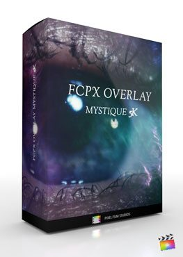 Final Cut Pro X Plugin FCPX Overlay 5K Mystique from Pixel Film Studios