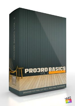 Final Cut Pro X Plugin Pro3rd Basics Volume 2