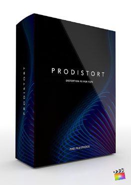 Final Cut Pro X Plugin ProDistort from Pixel Film Studios