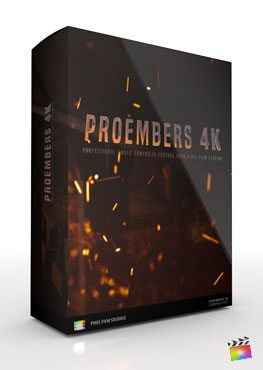 Final Cut Pro X Plugin ProEmbers 4K from Pixel Film Studios