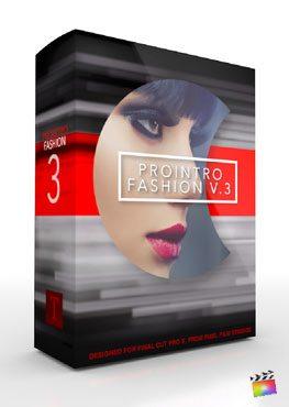 Final Cut Pro X Plugin ProIntro Fashion Volume 3 from Pixel Film Studios