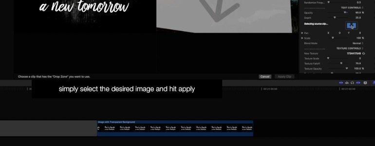 Final Cut Pro X plugin ProLyric from Pixel Film Studios