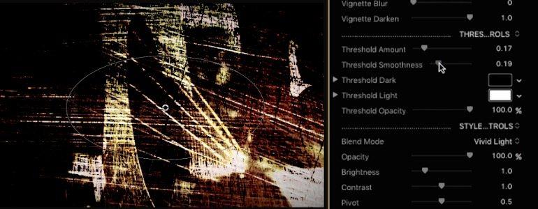 Final Cut Pro X plugin ProScratches from Pixel Film Studios