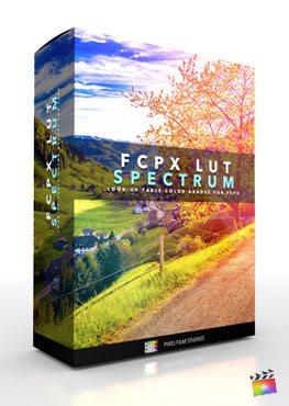 Final Cut Pro X Plugin FCPX LUT Spectrum from Pixel Film Studios