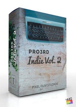 Final Cut Pro X Plugin Pro3rd Indie Volume 2 from Pixel Film Studios