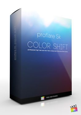 Final Cut Pro X Plugin ProFlare 5K Color Shift from Pixel Film Studios