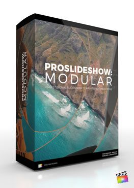 Final Cut Pro X Plugin ProSlideshow Modular from Pixel Film Studios