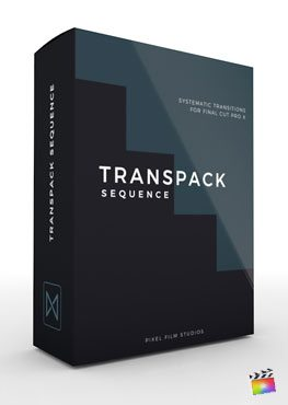 Final Cut Pro X Transition Transpack Sequence from Pixel Film Studios