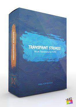 Final Cut Pro X Transition Transpaint Strokes from Pixel Film Studios