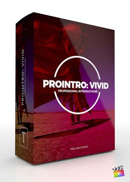 Final Cut Pro X Plugin ProIntro Vivid from Pixel Film Studios