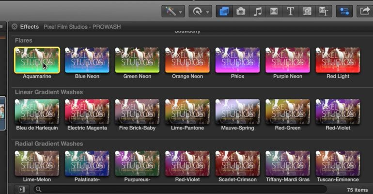 Professional - Color Grading Presets for Final Cut Pro X