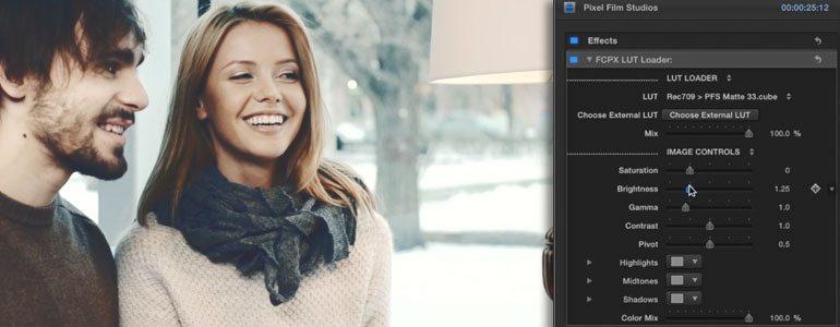 Professional - Color Grading LUT Presets for Final Cut Pro X