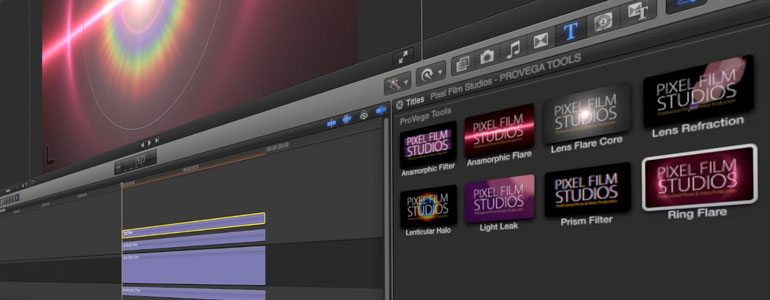 Professional - Lens Flare Tools for Final Cut Pro X