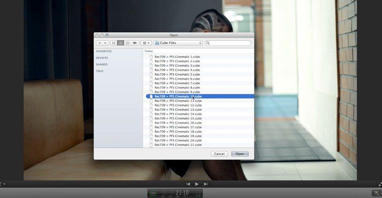 final cut pro free lut plugin