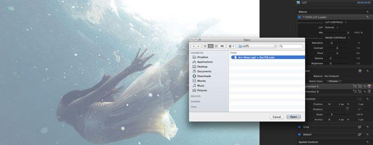 FCPX LUT Loader - LUT Loader for Final Cut Pro X