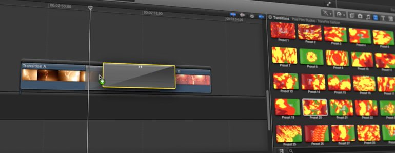 Professional - Hand-Drawn Element Transitions for Final Cut Pro X