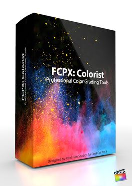 Final Cut Pro X Plugin Colorist Designed by Pixel Film Studios