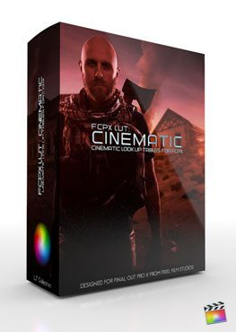 FCPX LUT Cinematic Final Cut Pro X Plugin from Pixel Film Studios