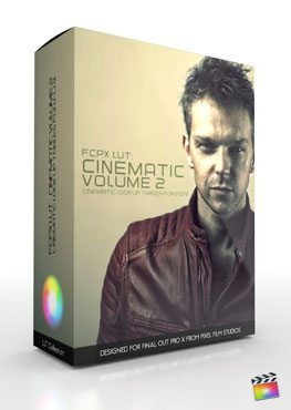FCPX LUT Cinematic Volume 2 Final Cut Pro X Plugin from Pixel Film Studios