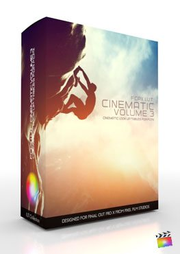 Final Cut pro X Plugin FCPX LUT Cinematic Volume 3 from pixel Film Studios