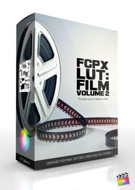 Final Cut Pro X Plugin FCPX LUT Film Volume 2 from Pixel Film Studios