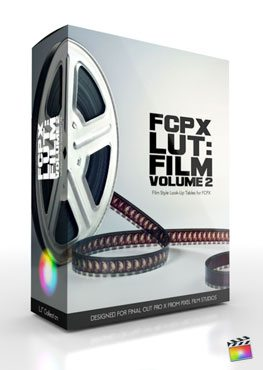 Final Cut Pro X Plugin FCPX LUT Film Volume 2 from Pixel Film Studios