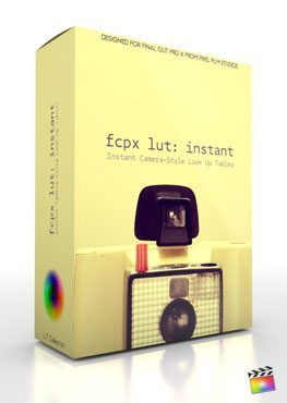 Final Cut Pro X Plugin FCPX LUT Instant from Pixel Film Studios