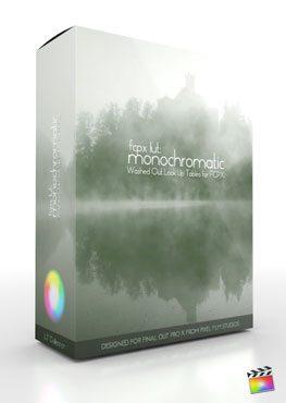 Final Cut Pro X Plugin FCPX LUT Monochromatic from Pixel Film Studios
