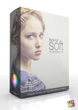 Final Cut Pro X Plugin FCPX LUT Soft from Pixel Film Studios