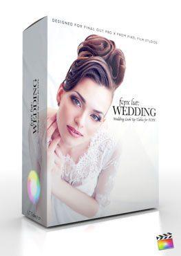 Final Cut Pro X Plugin FCPX LUT Wedding from Pixel Film Studios