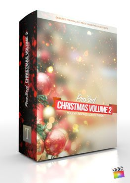 Final Cut Pro X Plugin Pro3rd Christmas Volume 2 from Pixel Film Studios