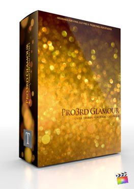 Final Cut Pro X Plugin Pro3rd Glamour from Pixel Film Studios