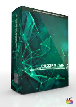 Final Cut Pro X Plugin Pro3rd HUD from Pixel Film Studios