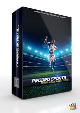 Final Cut Pro X Plugin Pro3rd Sports from Pixel Film Studios
