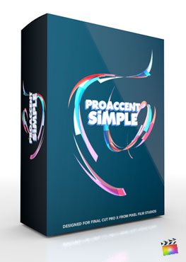 Final Cut Pro X Plugin ProAccent Simple from Pixel Film Studios