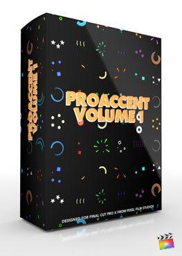 Final Cut Pro X Plugin ProAccent from Pixel Film Studios