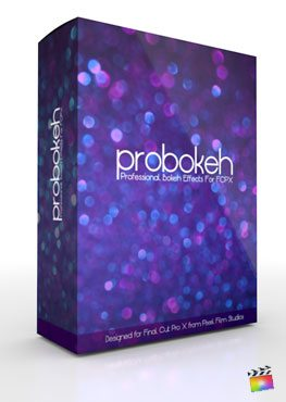 Final Cut Pro X Plugin ProBokeh Volume 1