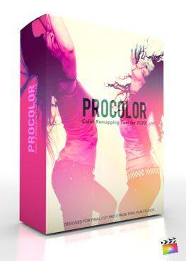 Final Cut Pro X Plugin ProColor from Pixel Film Studios