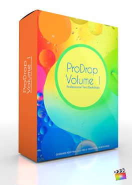 Final Cut Pro X Plugin ProDrop Volume 1 from Pixel Film Studios