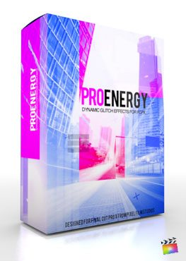 Final Cut Pro X Plugin ProEnergy from Pixel Film Studios