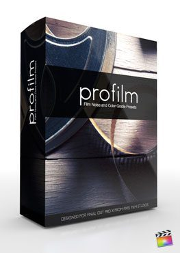 Final Cut Pro X Plugin ProFilm from Pixel Film Studios