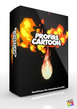Final Cut Pro X Plugin ProFire Cartoon from Pixel Film Studios
