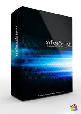 Final Cut Pro X Plugin ProFlare 5K Tech from Pixel Film Studios