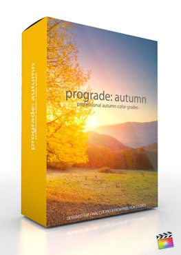 Final Cut Pro X Plugin ProGrade Autumn from Pixel Film Studios