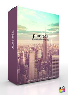 Final Cut pro X Plugin ProGrade from Pixel Film Studios