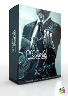 Final Cut Pro X Plugin ProHUD Volume 2 from Pixel Film Studios