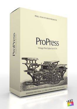 Final Cut Pro X Plugin ProPress from Pixel Film Studios