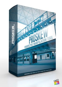 Final Cut Pro X Plugin ProSkew from Pixel Film Studios