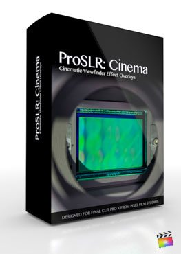 Final Cut Pro X Plugin ProSLR Cinema from pixel Film Studios