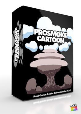 Final Cut Pro X Plugin ProSmoke Cartoon from Pixel Film Studios